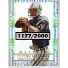 Peyton Manning 2000 Edge Masters #76 Broncos, Colts #/2000