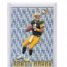 Brett Favre 1993 Pacific Silver Prism Circular Inserts #5 of 20 Packers, Vikings, Jets