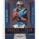 Cam Newton 2011 Playoff Contenders ROY Contenders #5 RC Panthers