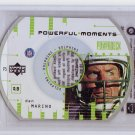 Dan Marino 1999 Upper Deck PowerDeck Powerful Moments #P5 Dolphins