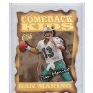 Dan Marino 1997 Ultra Comeback Kids #1 of 10 CK Dolphins HOF