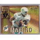 Dan Marino 1995 Action Packed Armed Forces #AF2 Dolphins HOF