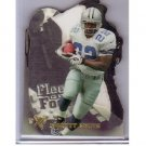 Emmitt Smith 1997 Skybox EX2000 Fleet of Foot Die-Cut #7 Cowboys