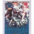 Emmitt Smith 1995 Pacific Triple Folders Rookies and Stars Blue #10 Cowboys