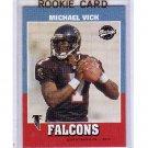 Michael Vick 2001 Upper Deck Vintage #204 RC Falcons, Eagles
