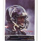 Michael Vick 2001 Topps Gallery #101 RC Falcons, Eagles