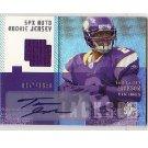 Tarvaris Jackson 2006 SPx #207 Jersey Autographed RC Vikings #/1650