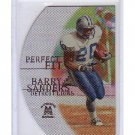 Barry Sanders 1999 SkyBox Molten Metal Perfect Fit Silver #PF1 Lions