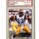 Kurt Warner 2000 Edge Graded Uncirculated #144 PSA 10 Gem Mint Rams #1 of 5000