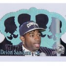 Deion Sanders 1995 Crown Royale Blue Holofoil #33 Cowboys