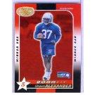 2000 Leaf Certified Mirror Red RC #249 Seahawks
