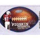 Reggie Wayne 2001 Fleer Pigskin Prospects #6 of 15 PP   RC  Colts