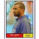 Matt Kemp 2010 Topps Chrome Heritage Refractor #C8 Dodgers Serial #020/561