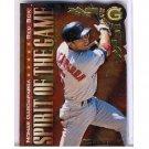 Nomar Garciaparra #/500 1997 Donruss Spirit of the Game Gold Press Proof #412 Dodgers #/500