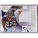 Knowshon Moreno RC 2009 National Treasures Colossal Prime Rookie Jersey #4 Broncos 3-Color Patch