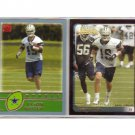 Jason Witten 2003 Rookie 2-Card Set Cowboys