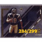 Steven Jackson RC 2004 Leaf R&S Longevity Jerseys #281 Falcons, Rams #284/299
