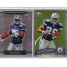 Dez Bryant & DeMarco Murray 2011 Cowboys 2-Card RC Lot