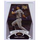 Chris Davis RC 2008 Topps Finest Rookie Redemption RC #5 of 10 Rangers, Orioles