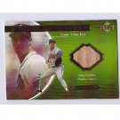 Greg Maddux 2001 UD Ovation Piece of History Bat #GM Braves