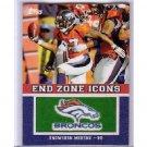 Knowshon Moreno 2011 Topps End Zone Icons #EZI-78 Broncos