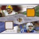 Peyton Manning Brett Favre 2006 Ultimate Collection Dual Jerseys #UD-FM #/99