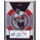 Brandon Jacobs 2005 Finest Rookie Autograph #NNO Giants RC