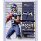 Russell Wilson 2012 Prestige Rookie #238 RC Seahawks