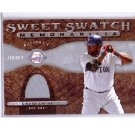 David Ortiz 2009 Sweet Spot Swatches #DO Red Sox