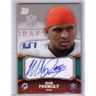 Mike Pouncey 2011 Topps RR Autograph #106 Dolphins RC