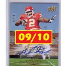 #09/10 Glenn Dorsey 2008 UD Star Rookies Autograph #315 RC Chiefs