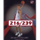 Dwight Howard RC 2004-05 Topps Pristine Rookie Card #103 Rockets, Lakers, Magic