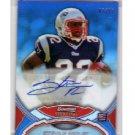 Stevan Ridley 2011 Bowman Sterling Blue Refractor Autograph RC #BSA-SR Patriots #47/99