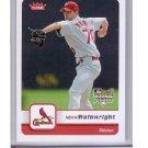 Adam Wainwright 2006 Fleer #87 Cardinals RC