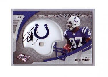 Reggie Wayne 2006 Sweet Spot Signatures Card #SSS-RW Colts