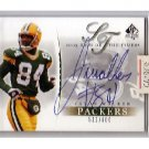 Javon Walker 2003 SP Authentic Sign of the Times Autograph Packers #/600