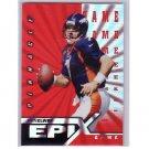 John Elway  1997 Pinnacle Certified Epix #E20 Game  Broncos HOF