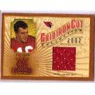 Jake Plummer 2002 Gridiron Kings Gridiron Cut Collection #GC-48 Cardinals #/400