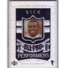 Michael Vick 2003 UD Patch Collection All-Pro Performers #148 Steelers