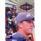 John Elway #/500 1998 Edge Super Bowl Proof #6 Broncos