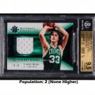 Larry Bird Pop 2 BGS 9.5 Gem Mint 2005 Ultimate Collection Ultimate Game Jersey #UJ-LB Celtics