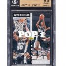 David Robinson Sean Elliot 1992-93 Upper Deck #505 BGS 9.5 Gem Mint POP 1 Spurs HOF