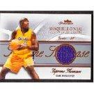 Shaquille O'Neal #/300 2004 Fleer Showcase Supreme Showcase Jersey #SS-SO Lakers, Magic, Heat Shaq