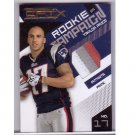 #/50 Taylor Price 2010 EPIX Rookie Campaign 3-Color Prime Jersey #2 RC Patriots