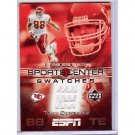Tony Gonzalez 2005 UD ESPN Sports Center Swatches #SCS-TY Falcons Chiefs