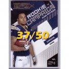 Ryan Mathews RC 2010 Epix Rookie Campaign Prime Jersey #1 Chargers #/50