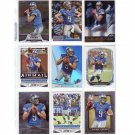 Matthew Stafford 9-Card Lot Lions