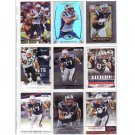 Rob Gronkowski 9-Card Lot Patriots
