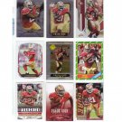 Frank Gore 9-Card Lot 49ers