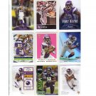 Percy Harvin 9-Card Lot Seahawks, Vikings
